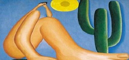 Abaporu é uma pintura a óleo da artista brasileira Tarsila do Amaral.